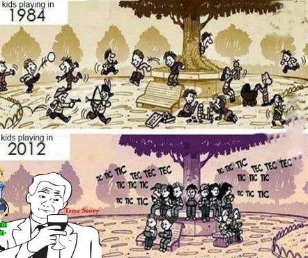 Perbedaan Kehidupan Manusia Era 80-an dengan Era Saat Ini