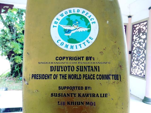 Gambar Trademark atau Lisensi dari  The World Peace Committee