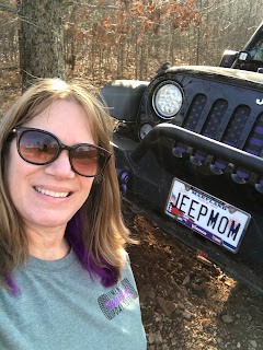Off Roading in my Jeep at Rausch Creek Off Road Park