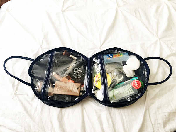 givenchy makeup bag, givenchy toiletry bag, summer beauty essentials