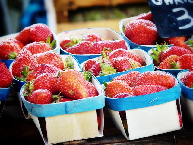 fresas mercado