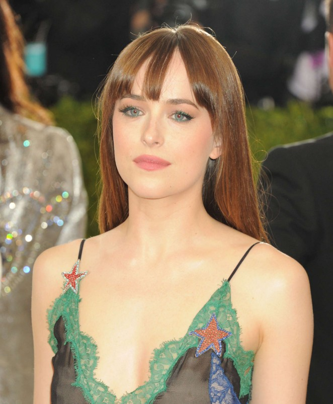 Dakota Johnson – 2016 Met Gala in NYC