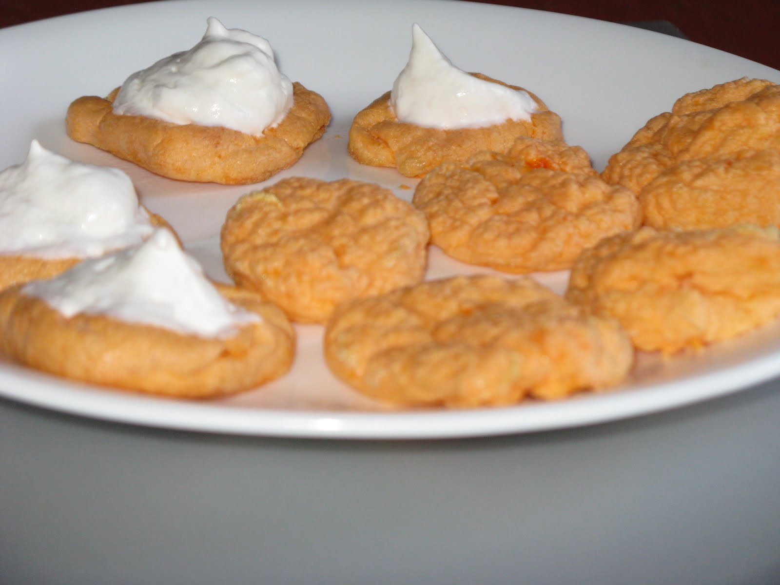 Abby Mito: 10 calorie Orange -sicle Miracle cookie!