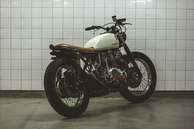 Kawasaki Z750 1979 By 654Motors Hell Kustom