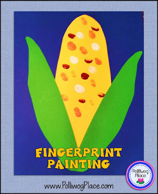 Sparkling Corn Craft Project