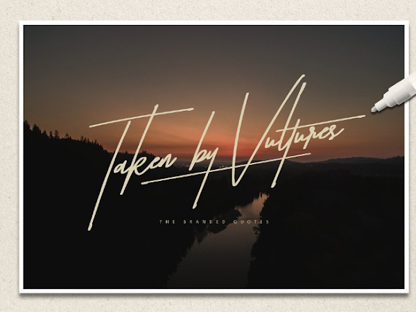 Download Taken by Vultures Font Free