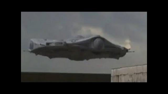 Посадка НЛО на земле — реальные кадры