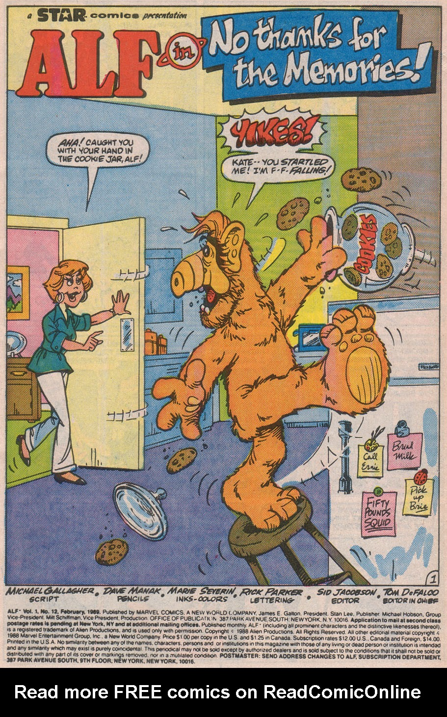 Read online ALF comic -  Issue #12 - 3