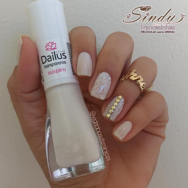 Suspiro Transparente Dailus + Sindy Francesinhas