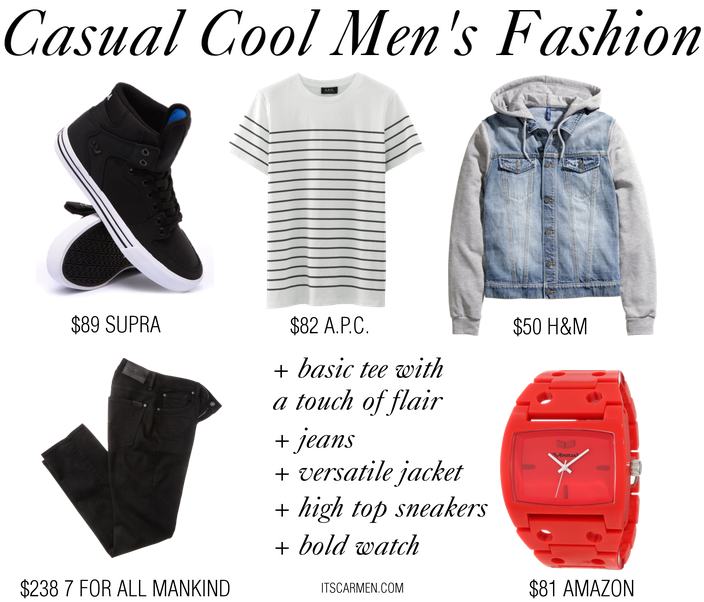 casual cool men's fashion