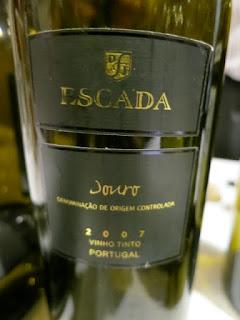 DFJ Vinhos Escada 2007 - DOC Douro, Portugal (91 pts)