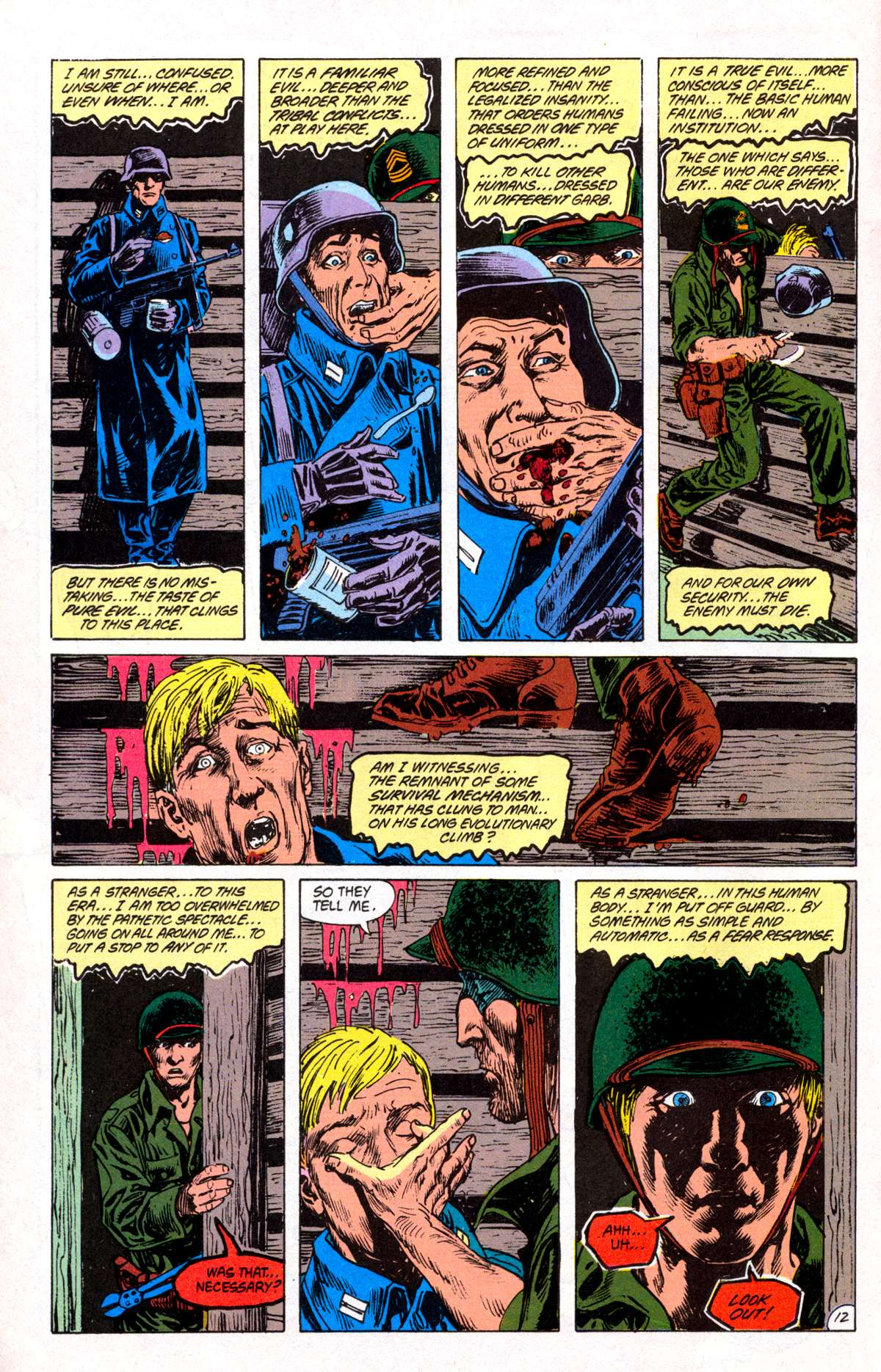 Swamp Thing (1982) Issue #82 #90 - English 13