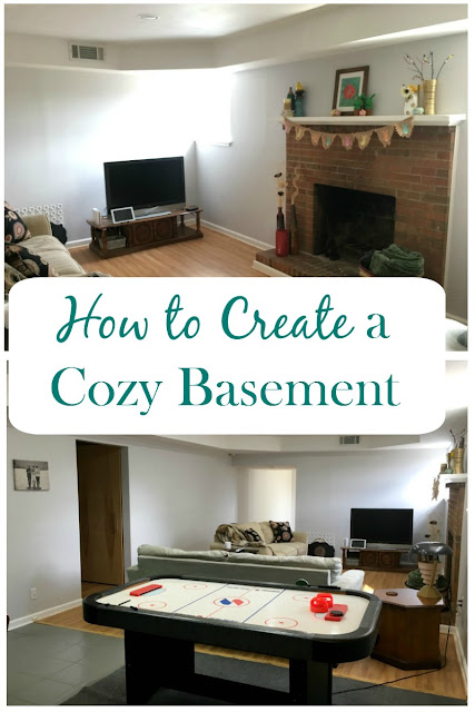 I am sharing tips on how to make your basement space cozy, bright, and inviting.