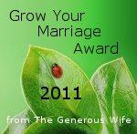 Grow Your Marriage Award 2011