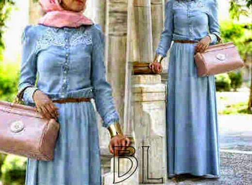 maxi denim spandek
