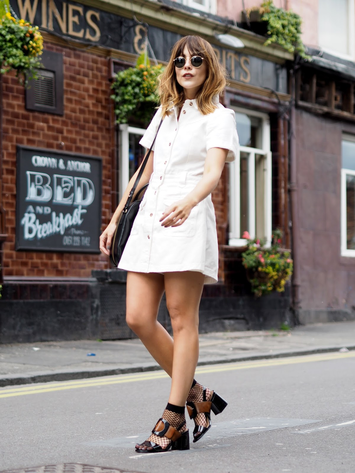 Socks and Sandals styling for summer