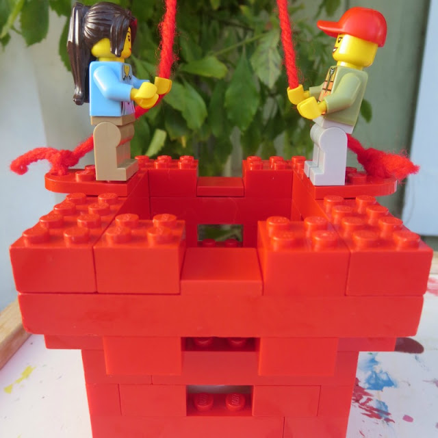 Valentine's Day LEGO project