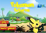 juegos de accion pokemon returns