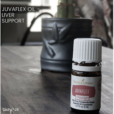 Juvaflex essential oil and liver support