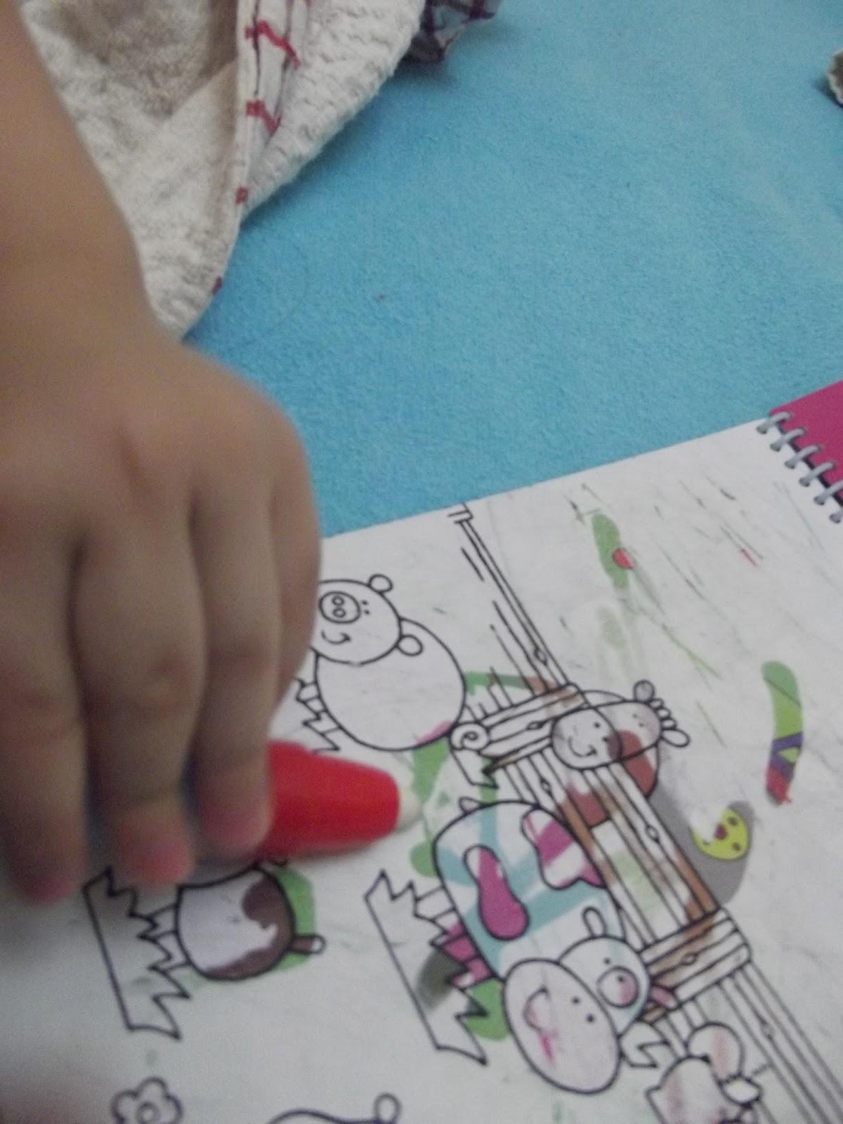 çocuğumla Eğlenirken Water Magic Su Kalemli Boyama Kitabı