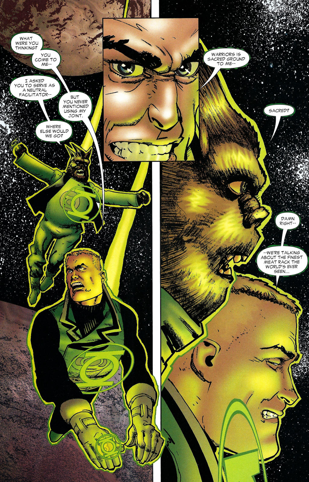 Read online Guy Gardner: Collateral Damage comic -  Issue #1 - 27