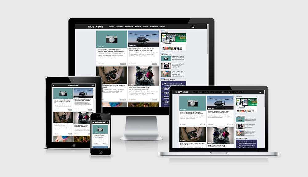Mostheme Template Free Premium Blogger Modify