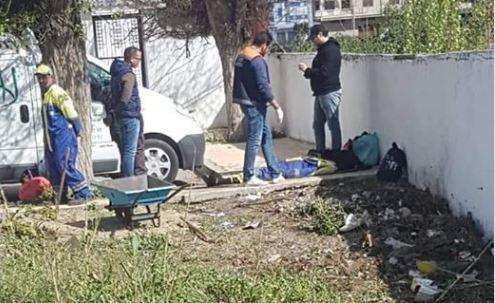 عامل نظافة يسقط ميتاً بمارتيل !
