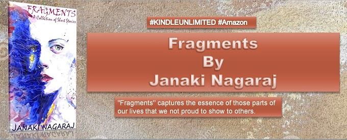 Book of The Day: Fragments by Janaki Nagaraj