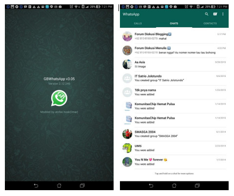 Whatsapp red apk download