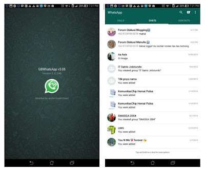 GBWhatsapp+ v4.65 Invisible Features MOD APK