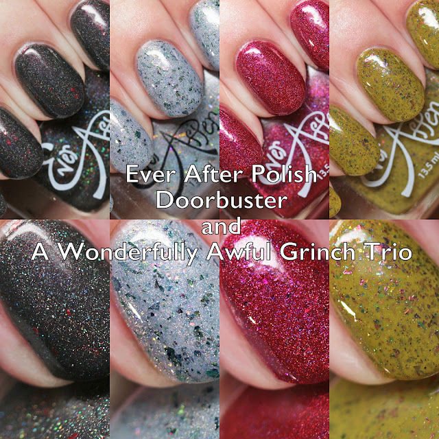 Ever After Polish Doorbuster and A Wonderfully Awful Grinch Trio
