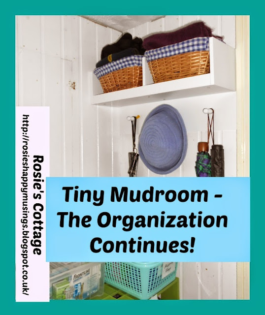 Tiny Mudroom - The Organization Continues