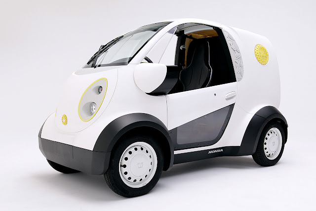 Honda and Kabuku Inc. unveil 3D Printed Micro Commuter Vehicle