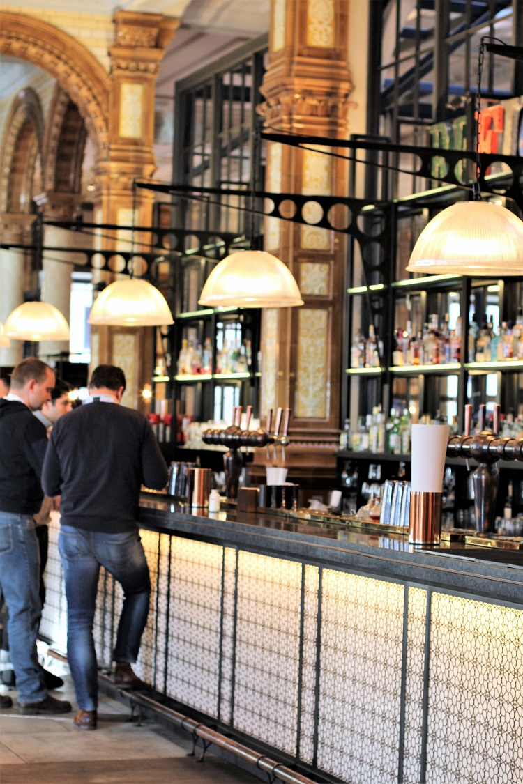 The Refuge by Volta bar at The Principal Hotel, Manchester - UK travel & lifestyle blog