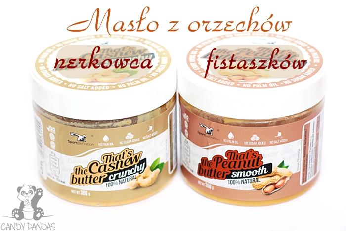 Masło z orzechów nerkowca i fistaszków - SportDefinition