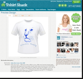 T-Shirt Shack Desktop T-Shirt Creator
