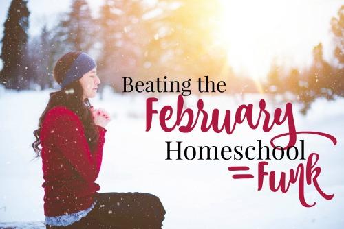 Beating the February Homeschool Funk-one mom's best tips