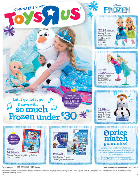 Toys R Us Ad 11 16 Best Deals Sales