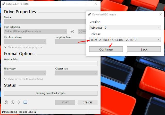 Rufus thêm tùy chọn download Windows 8.1, Windows 10a ISO trực tiếp từ ứng dụng