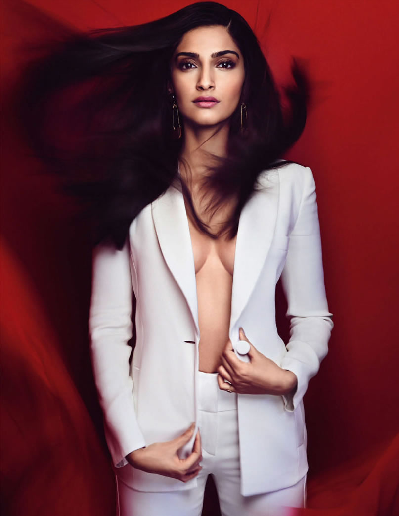 Sonam Kapoor In Vogue India April 2015 By Kristian Schuller