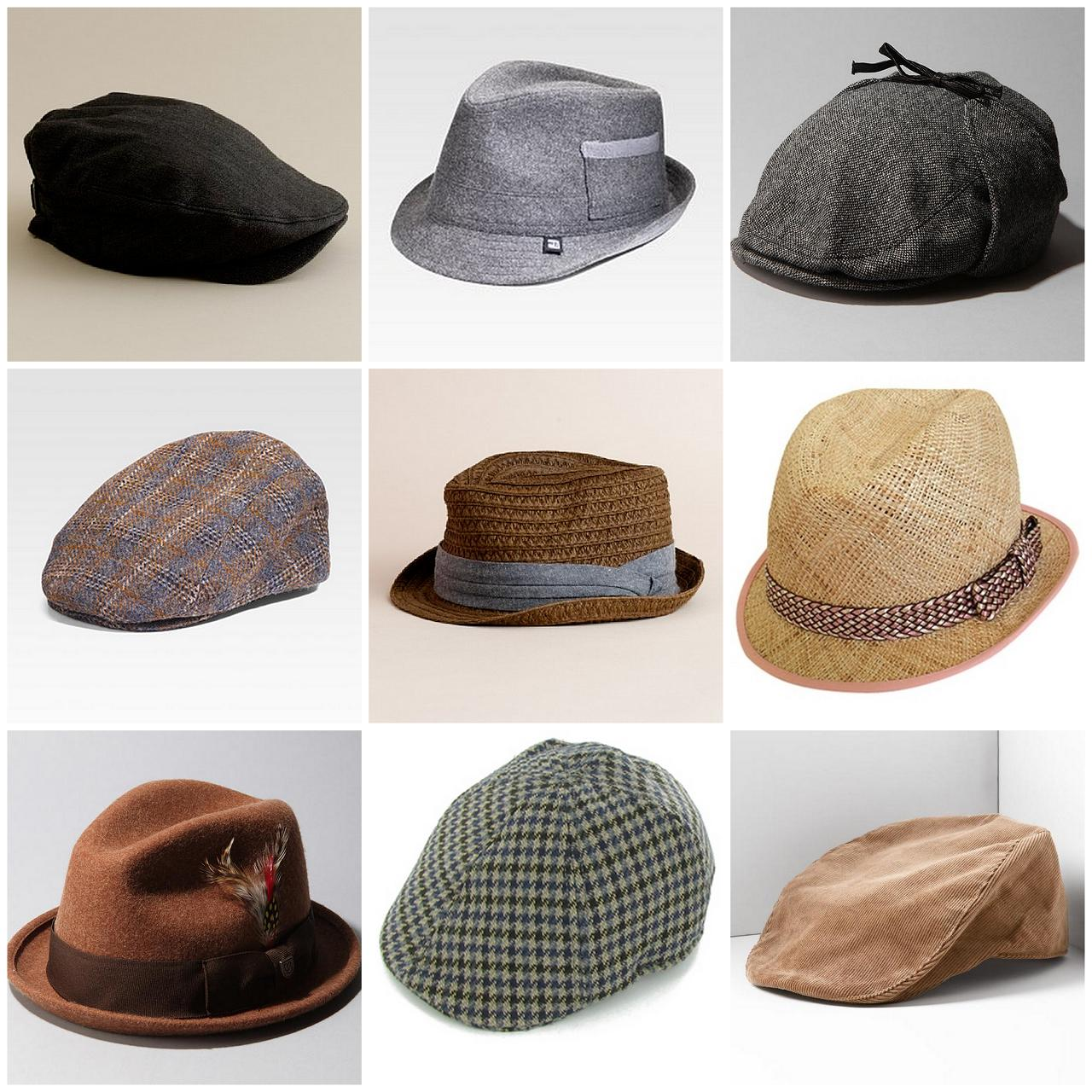 Different Hat Styles: Wrapped Couture: 7/31/11