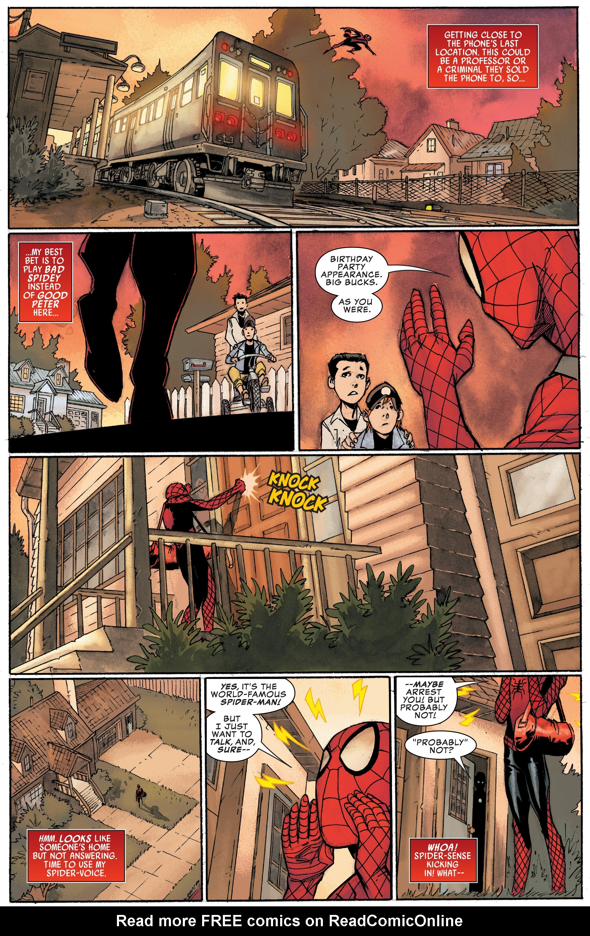 Read online Peter Parker: The Spectacular Spider-Man comic -  Issue #1 - 16