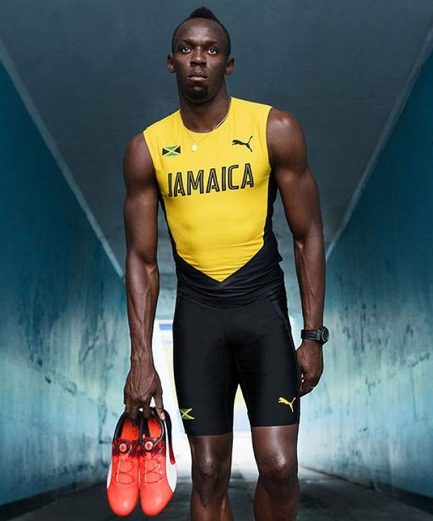Puma lança uniforme de atletismo da Jamaica para Rio 2016 - Testando ... 7a3045cfdca3c