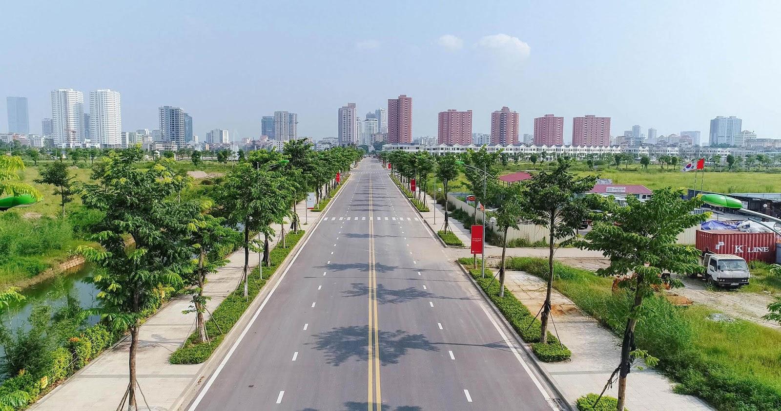 Đường Nguyễn Văn Huyên kéo dài.