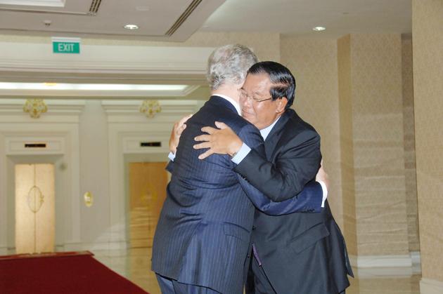 Le Premier ministre reçoit Jean-David Levitte