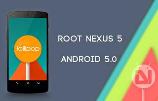 Cara Root Nexus 5 pada Android 5.0 Lolipop Menggunakan CF-Auto-Root One-Click