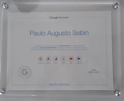 Certificado de analista Google avançado