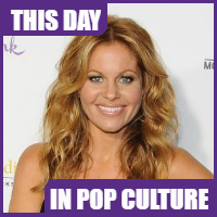 Candace Cameron Bure was born on April 6, 1976.