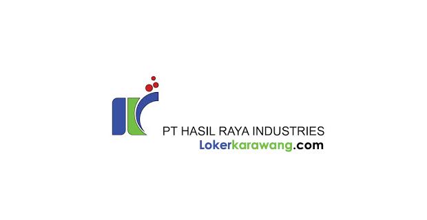 Lowonga Kerja PT. Hasil Raya Industries Karawang