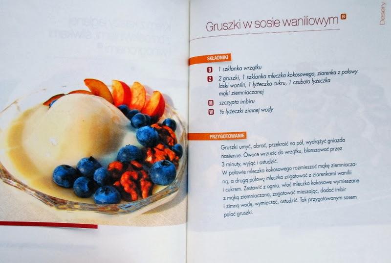 Gruszki w sosie waniliowym